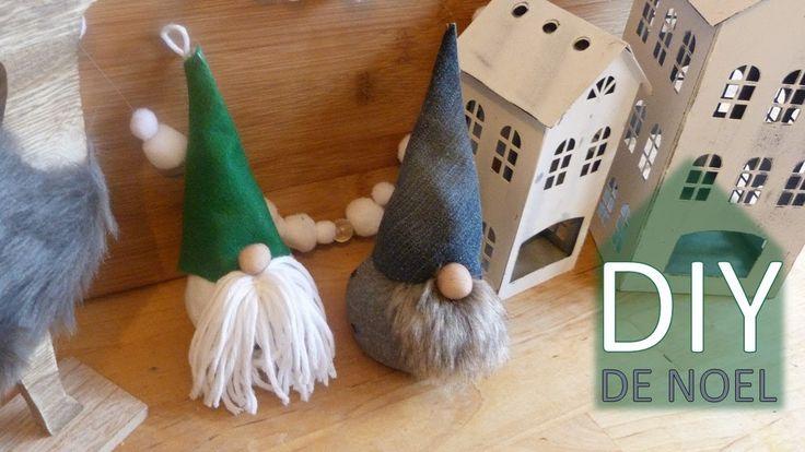 DIY Lutins scandinaves ou Gnomes suedois pour une déco nordique en franc...