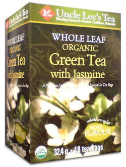 Uncle Lee's Whole Leaf Organic Green Tea With Jasmine $7.29 - from Well.ca