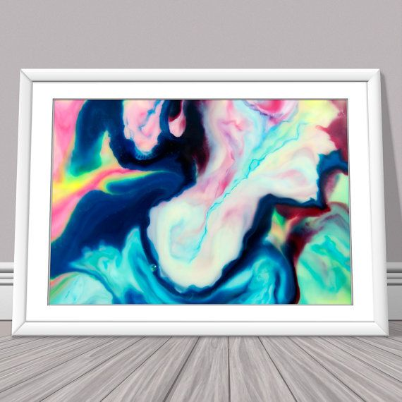"""""""Profile in Abstract"""" is an abstract photograph of a temporary painting of food colouring swirling in soy milk. https://www.etsy.com/listing/250883738/abstract-photograph-abstract-print"""