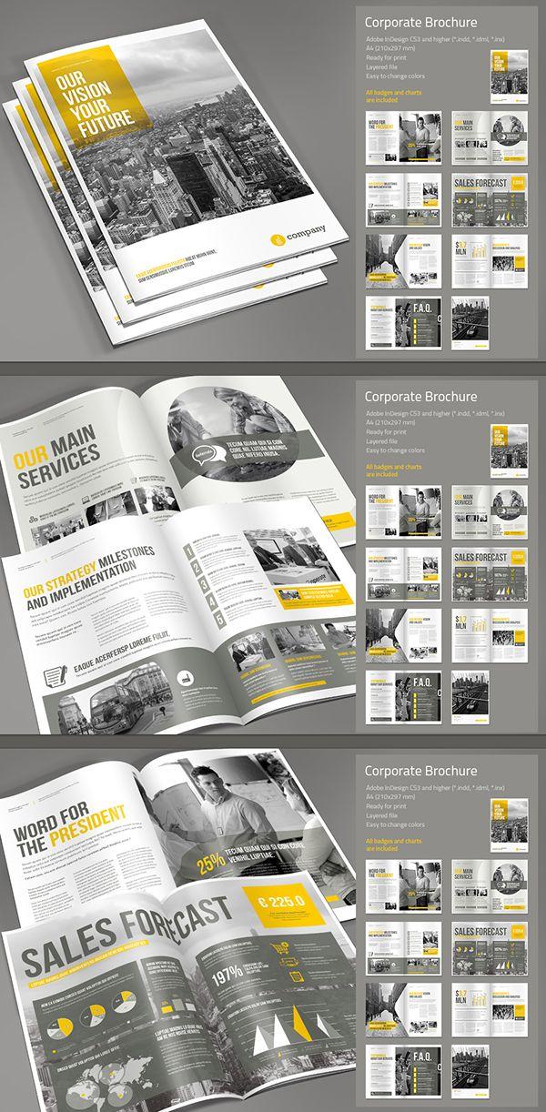 Corporate Brochure Vol. 2 on Behance