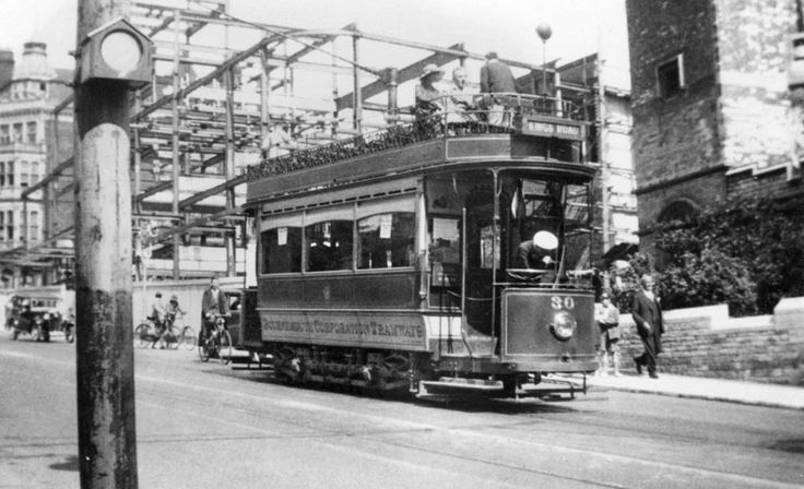 Bournemouth history | The tram service ran until 1936, trolleybuses having gradually replaced them since 1933