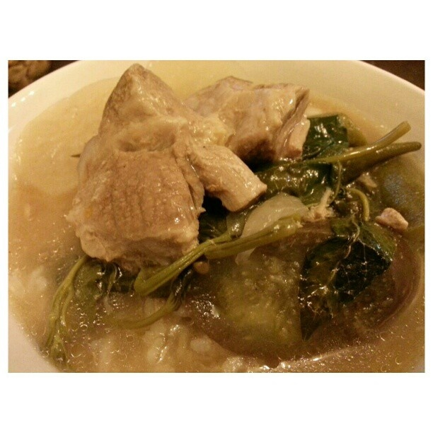 #ランチ #シニガン #フィリピン #料理  #sinigang for #lunch #yummy#filipino#food#cook#philippines#cooking