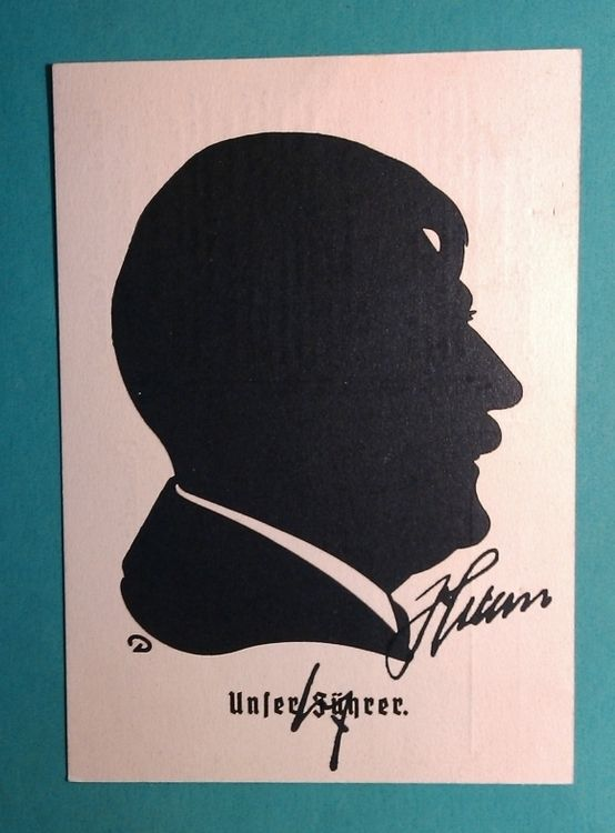 ADOLF HITLER POSTCARD WITH HANDWRITTEN SIGNATURE AUTOGRAPH BY ADOLF HITLER + COA - DIMENSIONS - 10,5 x 15 CM / 4.1 x 5.9 INCH - PRICE $2500
