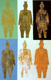 arteascuola: Terracotta Army printed with foam