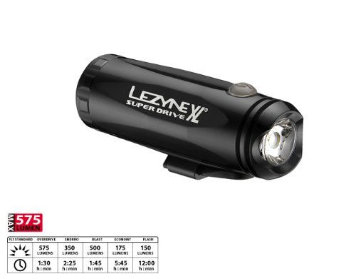 Lezyne LED Super Drive XL Front Front bike light black Front bike light | Best Seller Fun Bikes