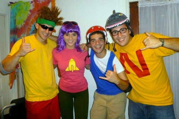 The Rocket Power Gang | 11 Throwback Halloween Costumes Every '90s Girl Will Love | http://www.hercampus.com/life/11-throwback-halloween-costumes-every-90s-girl-will-love
