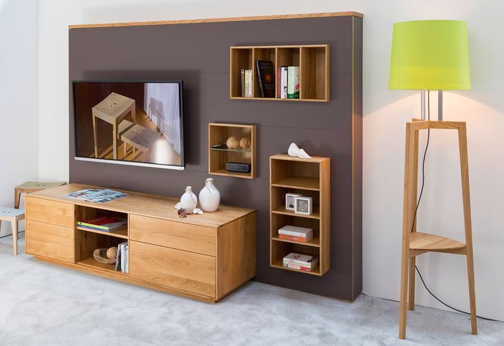 WALLY wohnraumlösungen / living room systemwall by sixay furniture