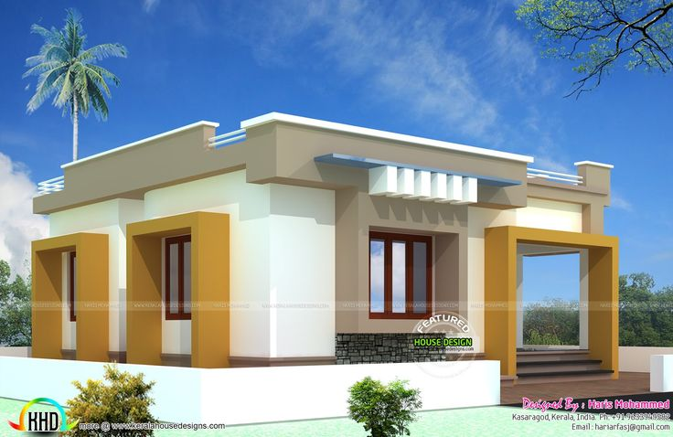 10 lakhs budget smallbudget single floor house in an area for Budget home designs philippines