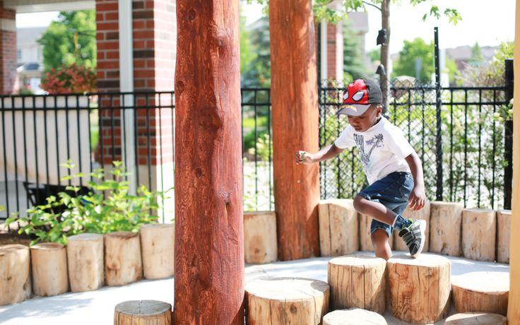 logsteppers playgroundideas naturalplayground