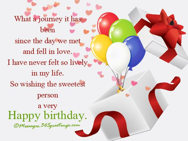 Birthday Wishes For Lover Messages, Greetings and Wishes - Messages, Wordings and Gift Ideas