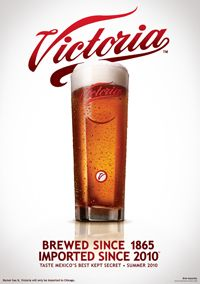 Victoria Cerveza - Tried this after a co-worker recommended it.  Very nice beer.