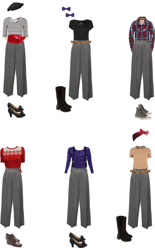 Autumn/Winter Rockabilly Basics- The Tailored Trousers