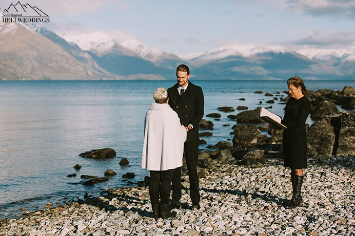 Queenstown 4wd wedding package with lakeside ceremony