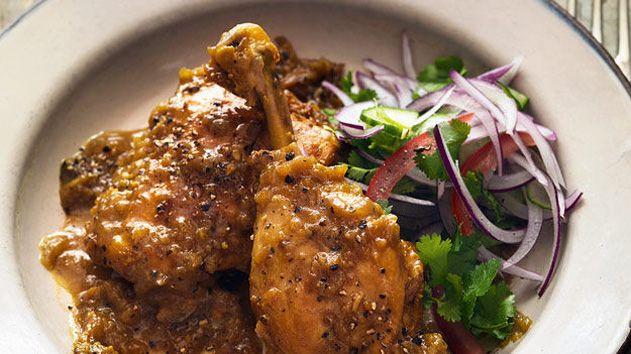 Cambodian Fiery black pepper chicken