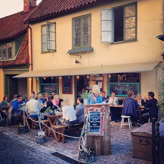 """Fishrestaurant """"Bakfickan"""" in Visby, Gotland – Gotlandstips.se"""