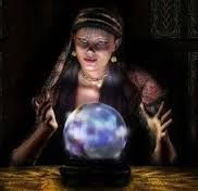 "Fortune Tellers The practice of fortune telling is forbidden by God. It's in the Bible, Deuteronomy 18:9-13 The future is known only by God. It's in the Bible, Isaiah 8:19, TLB. ""So why are you trying to find out the future by consulting witches and mediums. Don't listen to their whisperings and mutterings. Can the living find out the future from the dead? Why not ask your God?"""