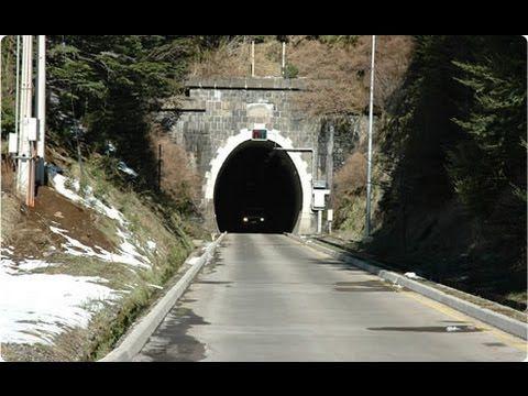 "Cruzando Tunel ""LAS RAICES"" Lonquimay [4,5 Km]"