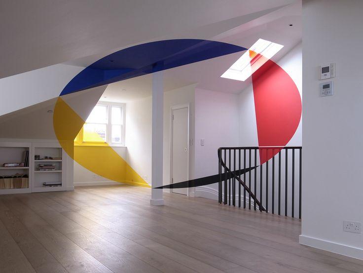 Anamorphic Illusion by Felice Varini