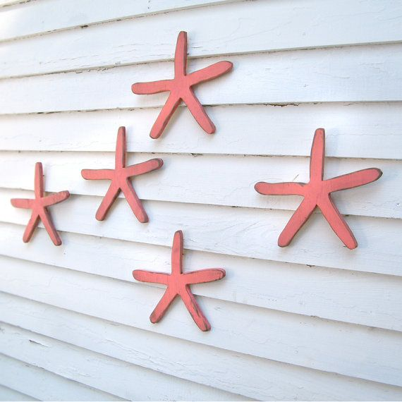 Red Starfish Wall Decor : Best images about nursery gallery wall inspiration on