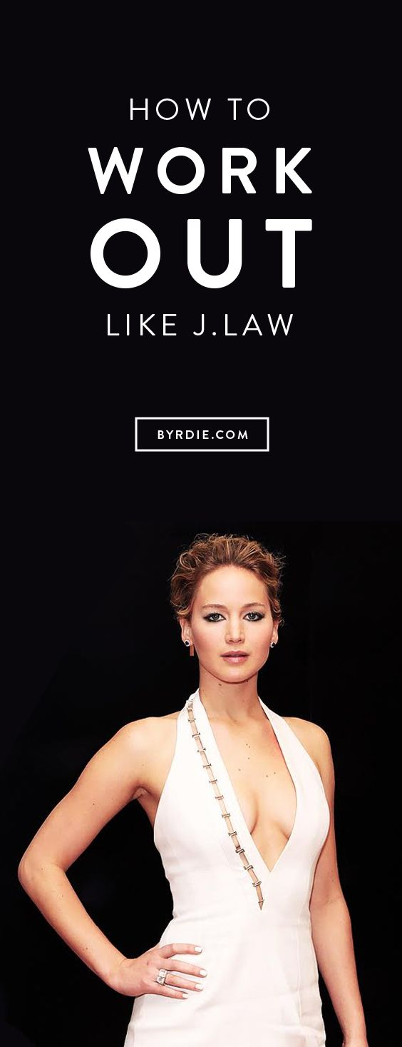 How to work out like Jennifer Lawrence