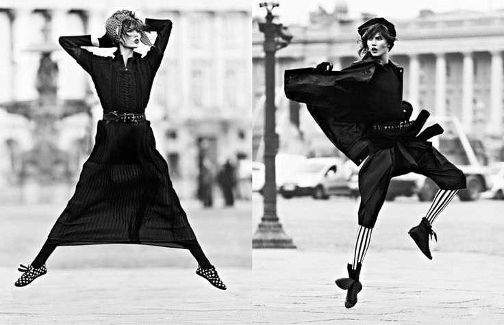Vogue Paris - Street Dance, March 2013 In this picture: Karlie Kloss Credits for this picture: Lachlan Bailey (Photographer) Géraldine Saglio (Fashion Editor/Stylist) James Rowe (Hair Stylist) Emmanuel Sammartino (Makeup Artist)