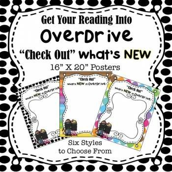Poster, OverDrive, Media, Library, eBook