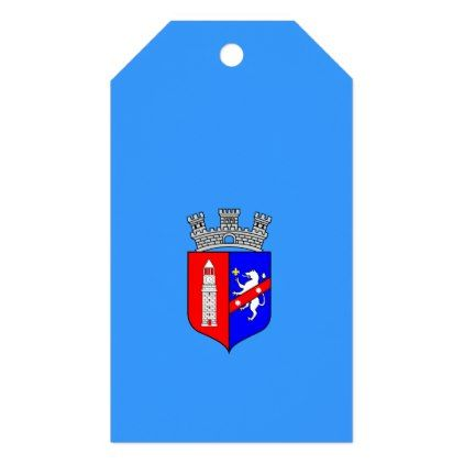 Flag of Tirana Albania Gift Tags  $10.00  by CityFlags  - cyo customize personalize unique diy idea