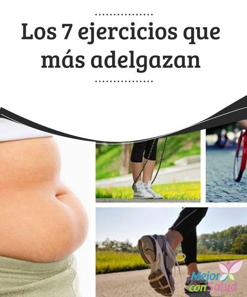 Los 7 ejercicios que más adelgazan  Seguramente piensas que el mejor deporte para bajar de peso es el running. Si bien tiene muchas cualidades y ayuda a adelgazar… no es el único.