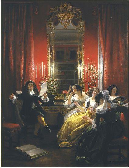 Les Femmes Savantes | Leslie, Charles Robert (RA) | V&A    1845