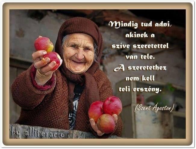 Szent Ágoston gondolata a szeretetről. A kép forrása: alliteracio # Facebook