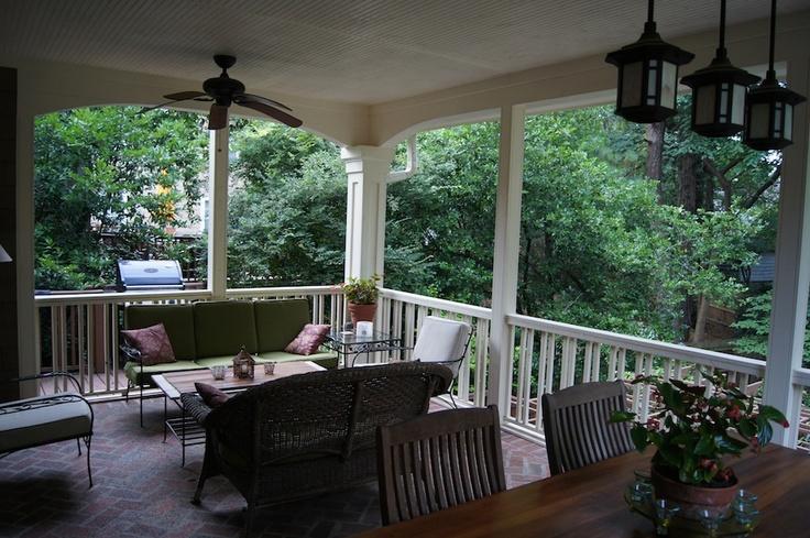 Hello perfect covered patio...