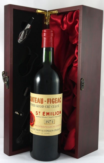 1974 chateau figeac st emilion premier grand cru classe. Black Bedroom Furniture Sets. Home Design Ideas