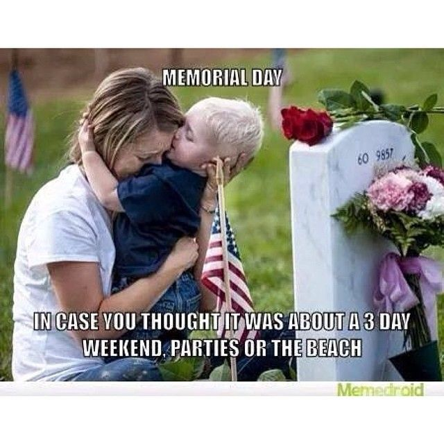 memorial day speech sample