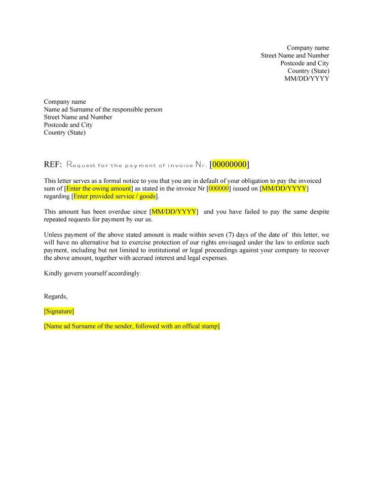 25 best ideas about Formal business letter format – Formal Business Letter
