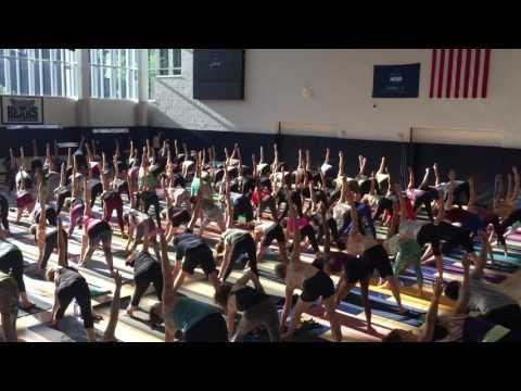 PARAMAGURU, SHARATH JOIS YOGA CLASS NEW YORK JUNE 2016 - YouTube