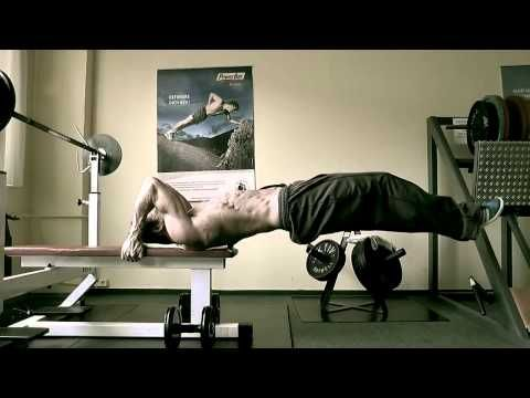 Perfect workout abs Dragon Flag from Bruce Lee - YouTube