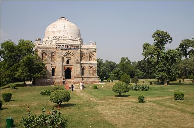 Lodi gardens in #Delhi, #India is a beautiful park and also contains   architectural works of the 15th century by #Lodi dynasty.