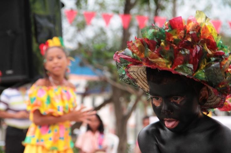 El pequeño bailarín de Son de negros