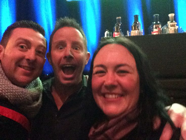 With the Juicemaster @jasonvale at his event Reclaim Your Health at the Apollo in London on Sat 7th Jan '17