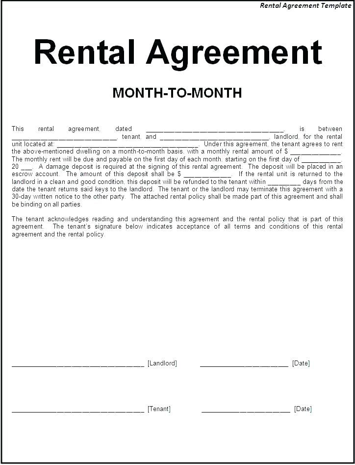 Tenancy Agreement Letter Sample Lease Whats More Showed