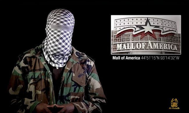 (2-22-15) islamic Terrorists Threaten Attack on Mall of America -  (800 Somali Refugees a month invaded the US in 2015.) The news comes from the Somali capital of America - Minneapolis, one of three cities that the Obama Administration touts as an example of how Muslims are happily settled in. Security at the Mall of America has increased lately.