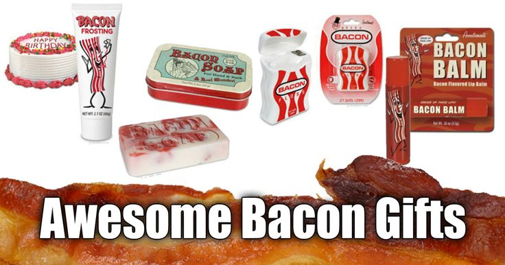 Bacon, bacon, bacon...what's not to love? Shop amazon for Bacon gifts, Bacon Socks, Bacon Drink Coolers, Bacon Games and more.