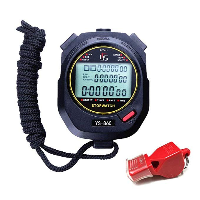 Laopao Stopwatch Digital Stop Watch For Sports 60 Lap Memory 0 01 Second Stopwatch Water Resistant Timer Review Stopwatch Digital Timer Coach