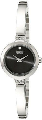 Citizen Eco-Drive Women's EW9920-50E Stainless Steel Swarovski Crystal-Accented Watch
