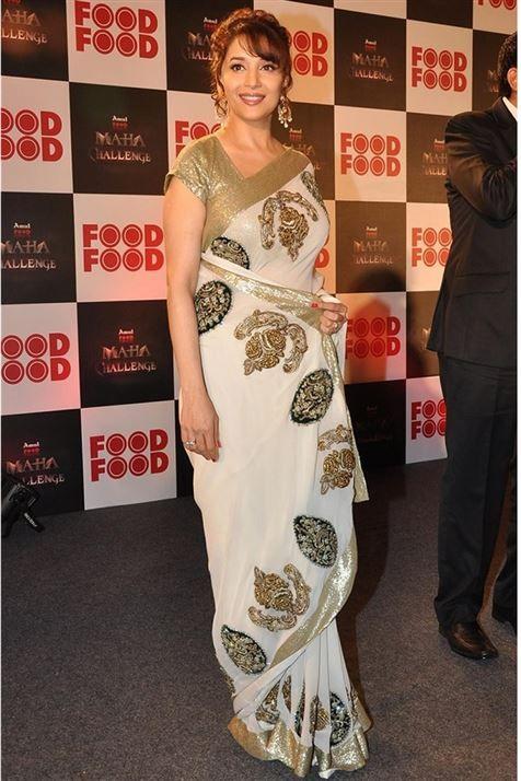 Madhuri Dixit Bollywood Replica Saree