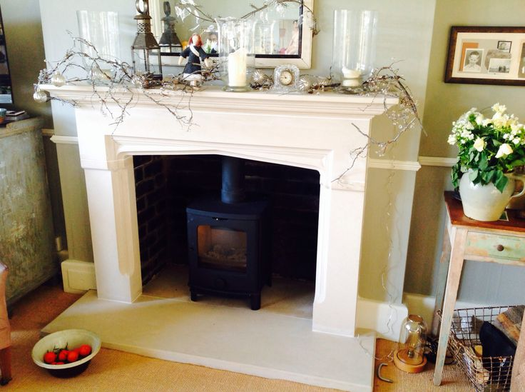 Our second wood burner at Christmas