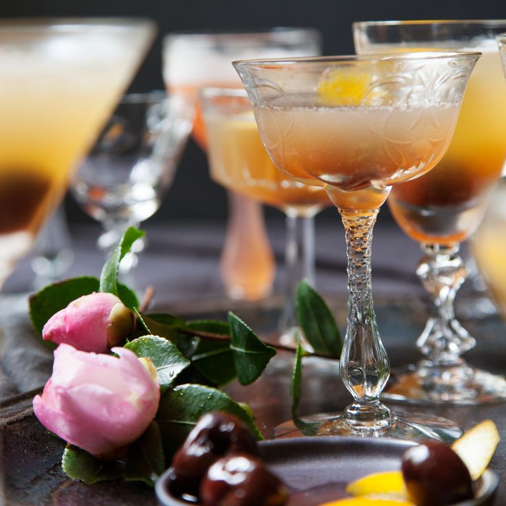 Maybelle Punch |  This classy, Cognac-based drink is sweet and gingery.  |   Food & Wine