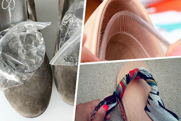 10 способов сделать летнюю обувь удобнее Как сделать обувь удобнее? Чтобы ноги не уставали от высоких каблуков, а обувь не натирала до волдырей, мы подобрали отличные советы для летнего сезона.