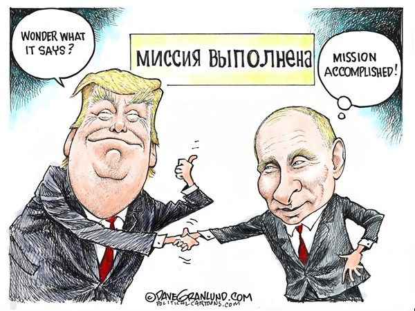 Image result for trump russia collusion cartoon
