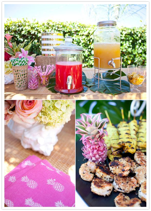 Bachelorette Tiki Party Inspiration - TrueBlu                                                                                                                                                      More